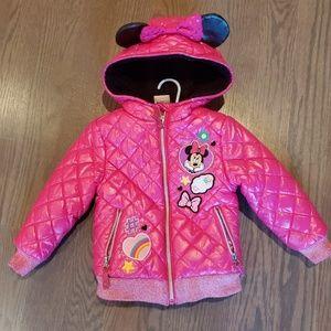 Girls Disney minnie coat